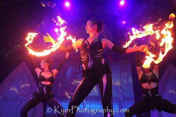 Fire Hula Hoop Dance California
